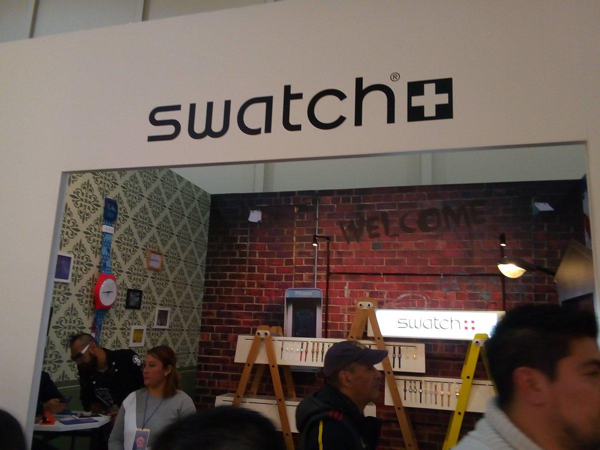 SWATCH México apoyando el arte y diseño,...