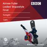 Full of hope for Fuller 🏂  Watch our girl @aimee_fuller in the Slopestyle Final tonight at 1am on @BBCOne 📺  #WeAreTheGreat