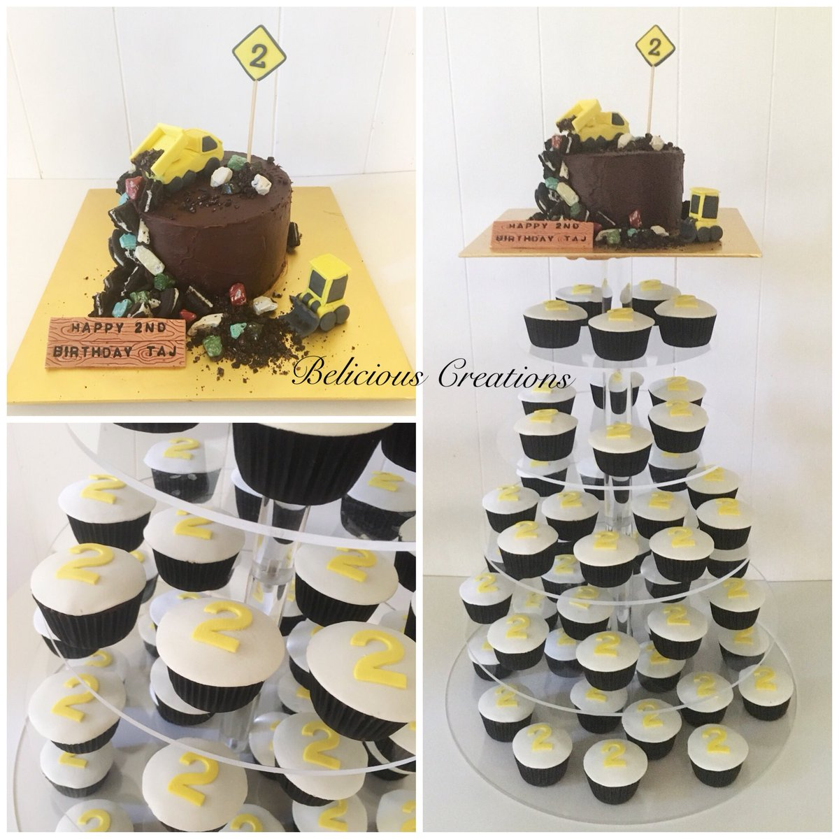 Wondrous Belicious Creations On Twitter A Construction Birthday Cake Is Funny Birthday Cards Online Fluifree Goldxyz