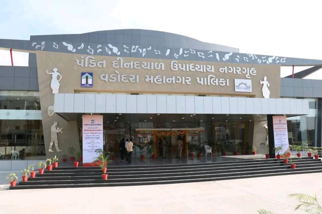 Rupani inaugurated it on February 11, the hall remains closed for public even now