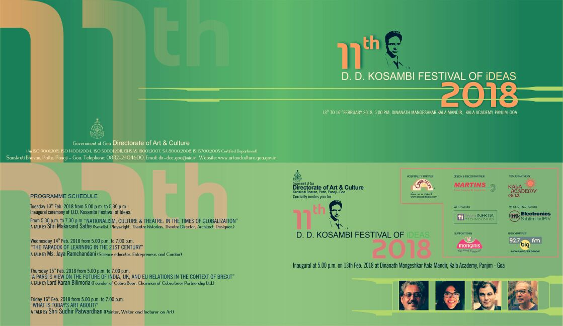 We've been invited to speak at the DD Kosambi Festival of Ideas on 14 Feb, 5 PM, at Kala Academy. It's on 'The Paradox of Learning in the 21st Century' where @welearnwegrow will take us through the reasons behind The Story Of and our many learnings. https://t.co/2JTezorFjd https://t.co/ev1PWqqF0j