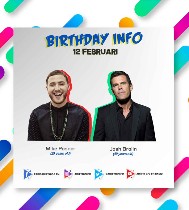 Happy Birthday Mike Ponser & Josh Brolin