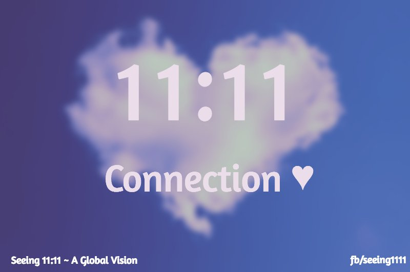 Feel our Connection ????????:???????? #1111YearOfLight https://t.co/g7KIbxGc4D