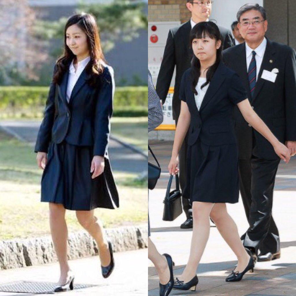 佳子さまの方が中国は狙ってるなんで話を聞くと怖いです。 左が本当の 佳子内親王殿下 右は 偽者pic.twitter.com/leLW8H8iBQ