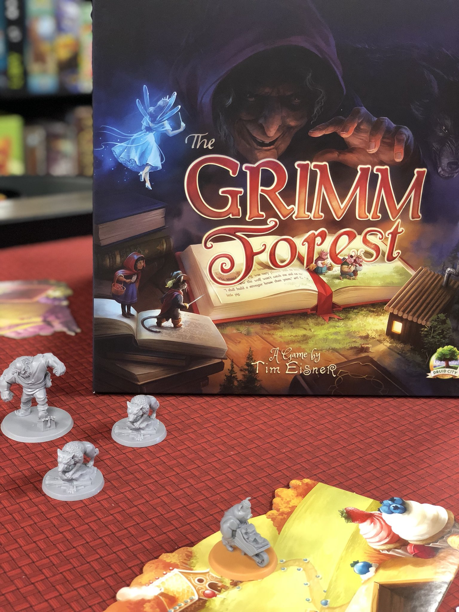 The Game Annex On Twitter If You Haven T Played The Grimm Forest By Druidcitygames What Are You Waiting For Boardgames In Fortwayne