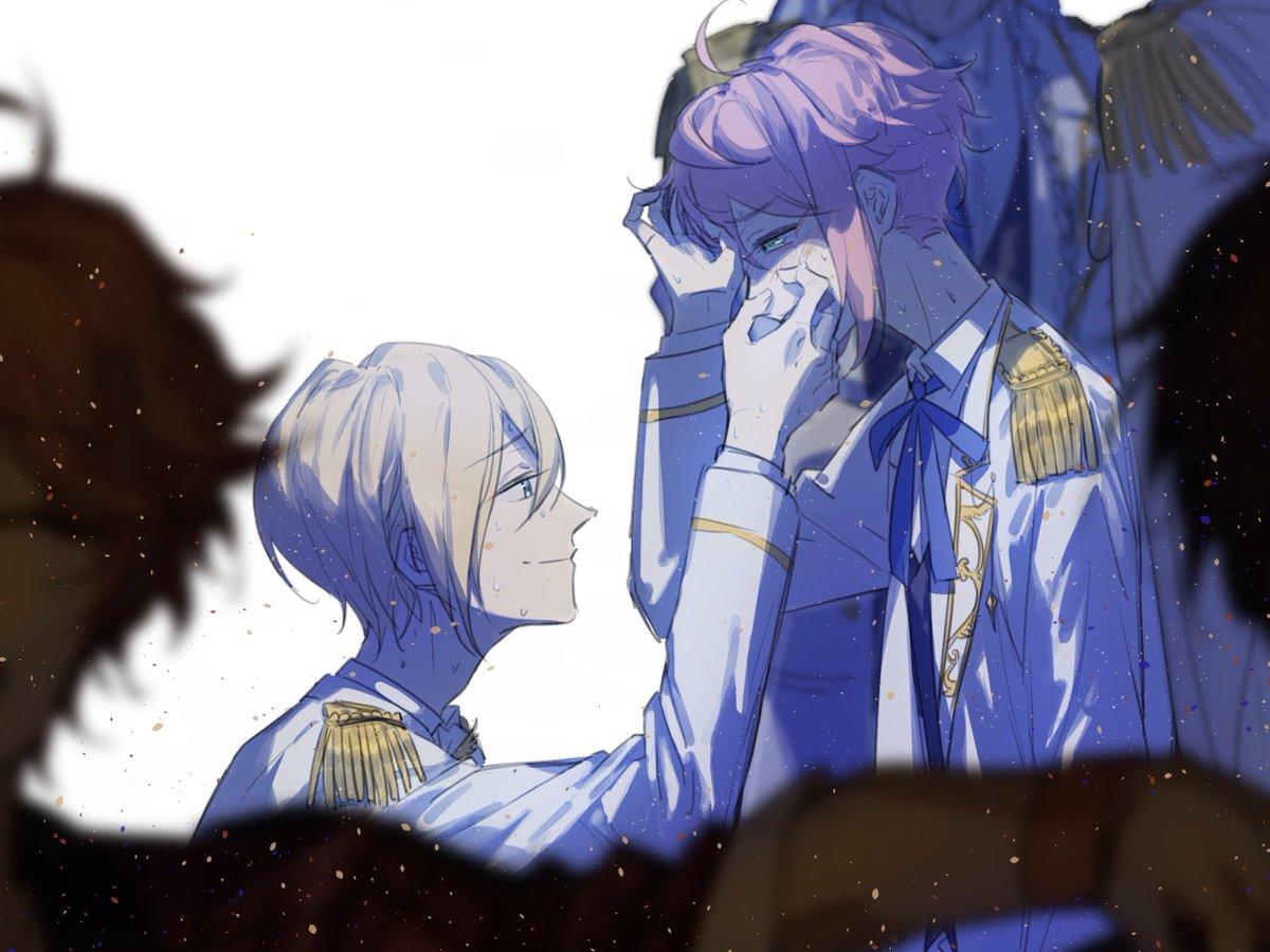 皇帝と雛鳥  あんステTSFありがとうございました...このシーンが忘れられない...