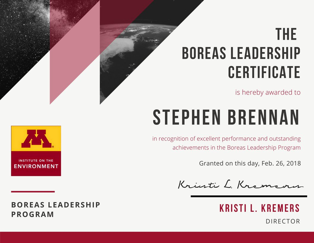 Boreas boreasione twitter congratulations are in order for stephen brennan who just completed his boreas leadership certificate stephen facilitated a 12 week trauma skills group for 1betcityfo Image collections