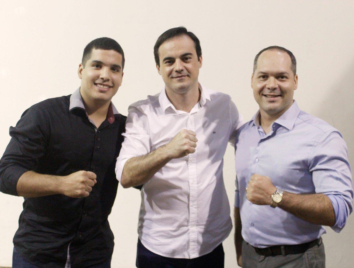 """André Fernandes on Twitter: """"A luta no Ceará está apenas começando... Capitão Wagner, Heitor Freire e André Fernandes 👊🇧🇷… """""""