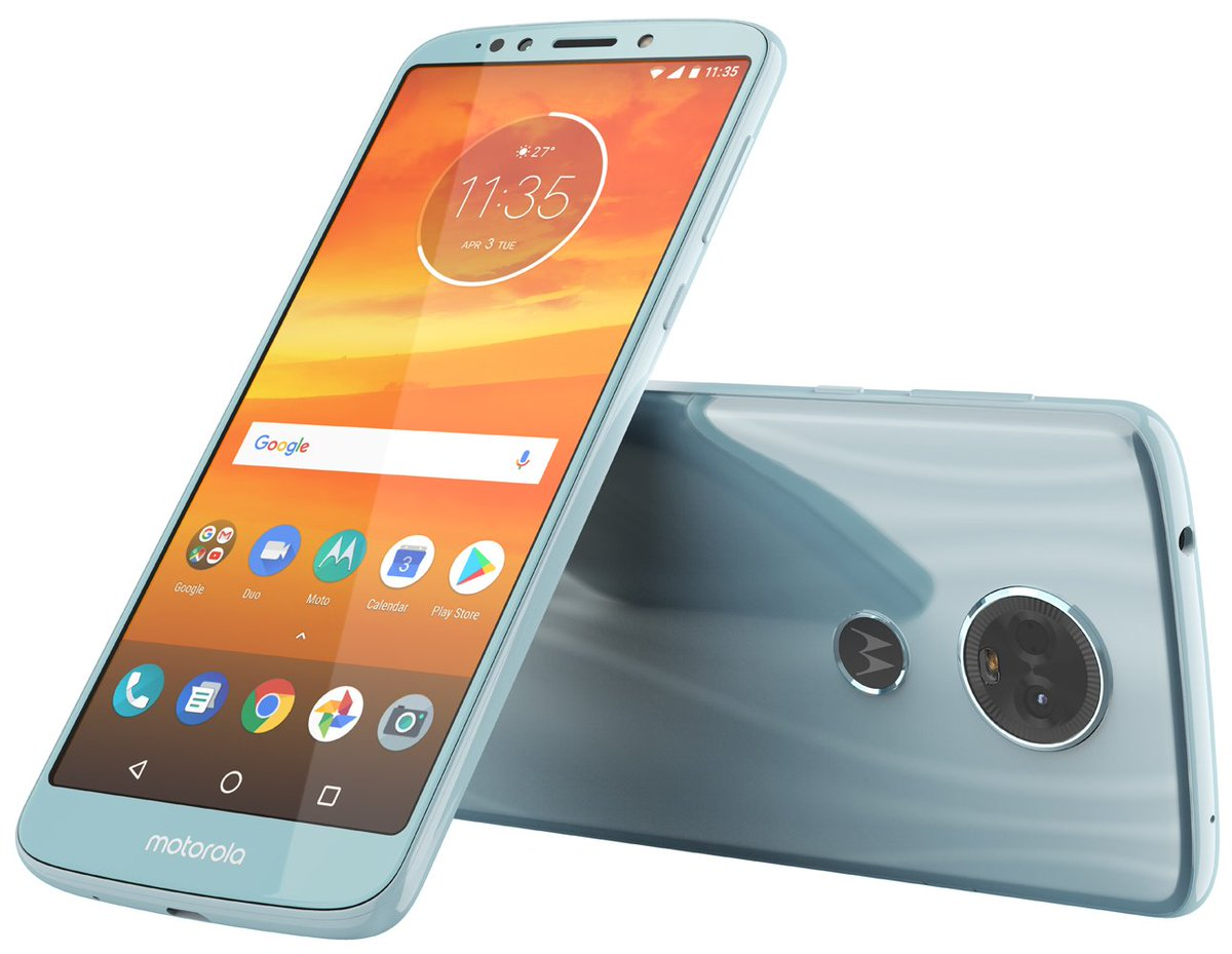 The rumored Moto E5 Plus looks to feature a sleek form and one, not two, cameras