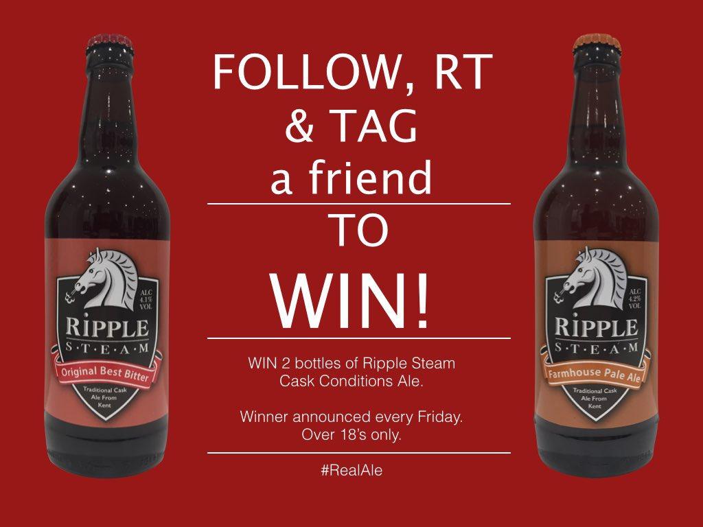 Ripple Steam Brewery \ (•◡•) /'s tweet -