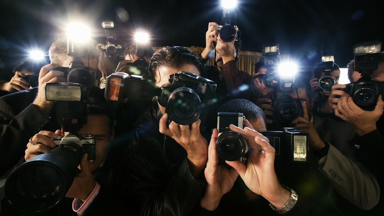 Кадр со звездами на фотоаппарат