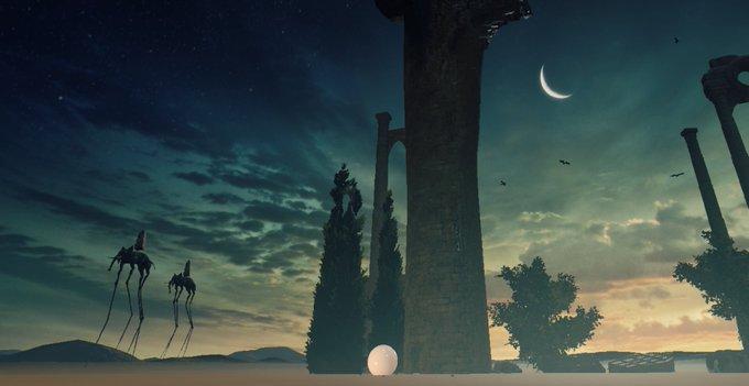 VRでダリの世界に入れるゲームがめちゃくちゃ綺麗!「頭おかしくなり ...