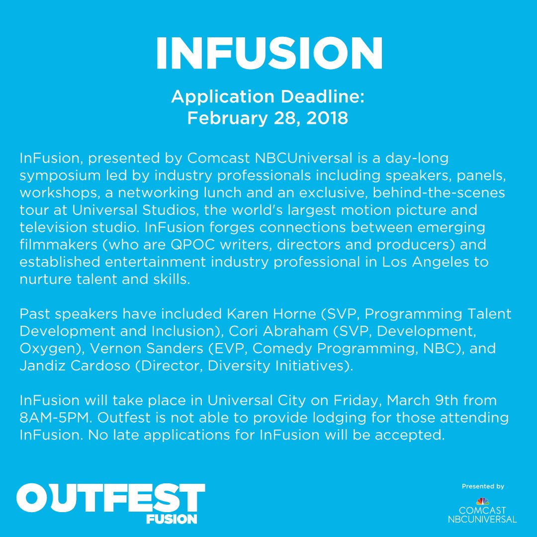 Outfest on Twitter: