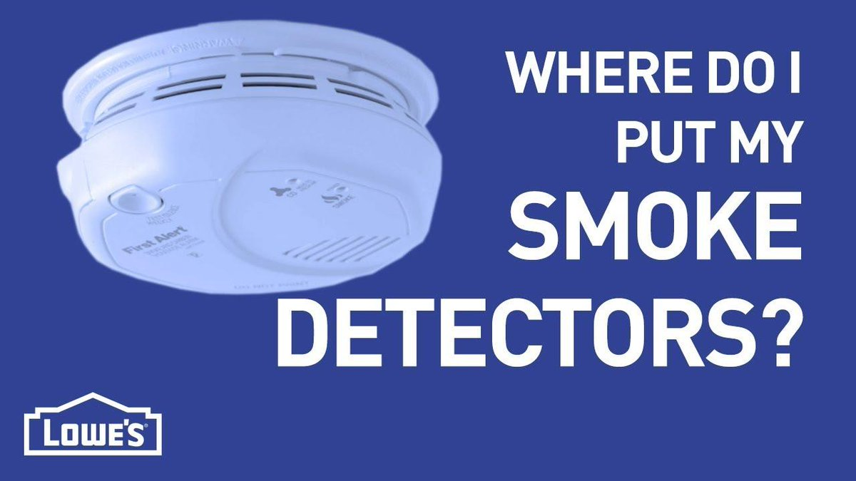 Lowe 39 s lowes twitter - Smoke detector placement in bedroom ...