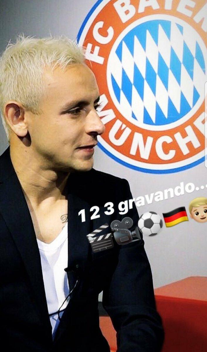 Interview 🔝🔴⚪🎥🎬 #MiaSanMia #FCB @FCBayer...