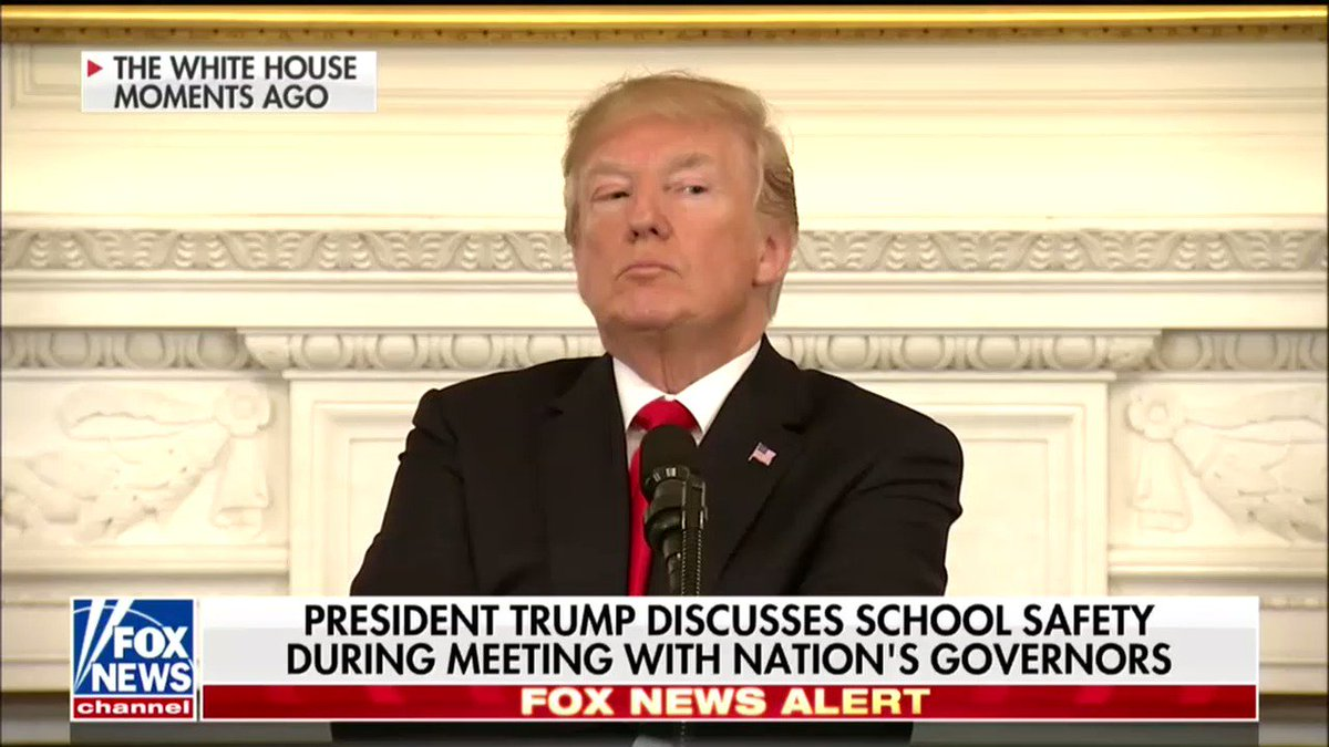 Watch Trump Fold His Arms And Grow Visibly Angry As The Governor Of Washington Explains Why Arming Teachers Is A Terrible Idea