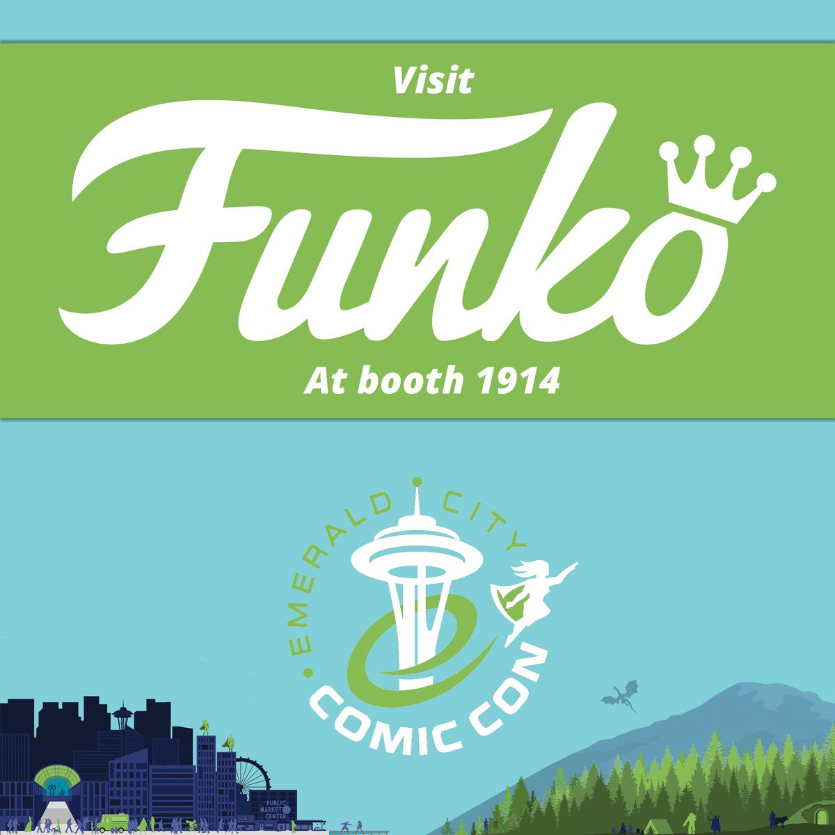 Funko at @emeraldcitycon 2018: Everythin...
