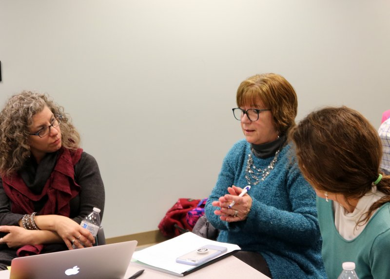 On March 13, @karenswoboda, @juliehorwitz,  & @rilbo54 joined our #RIedprep fellow meeting to talk share dilemmas related to clinical practice.  @RIDeptEd #edchatri @InnovateRI