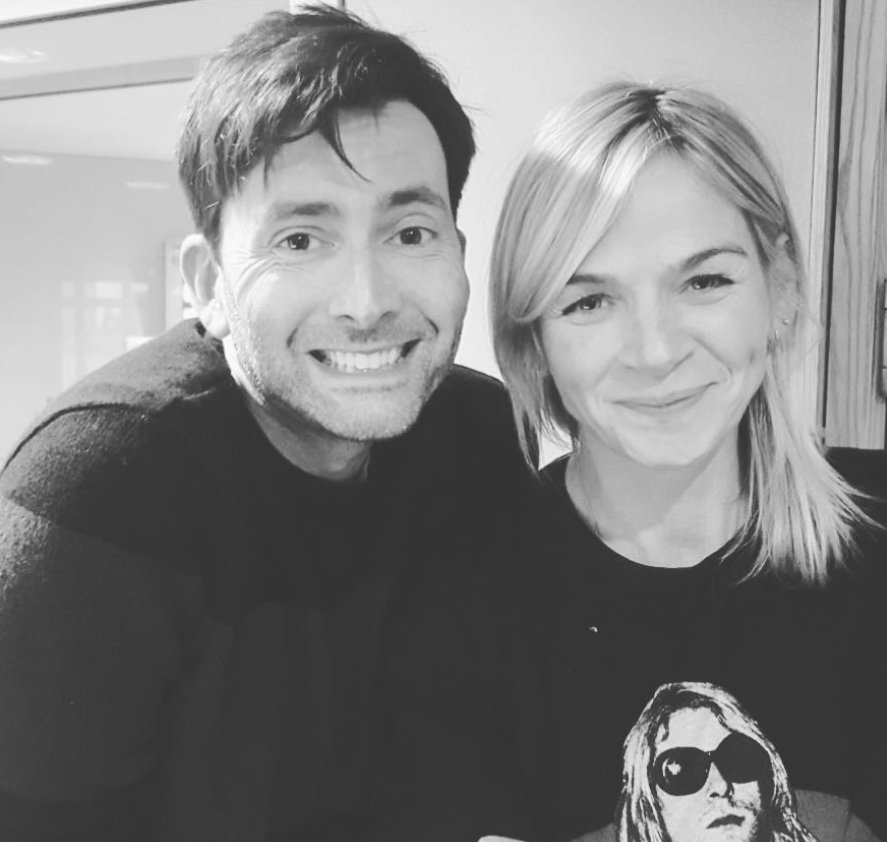 Zoe Ball and David Tennant - 24/2/18