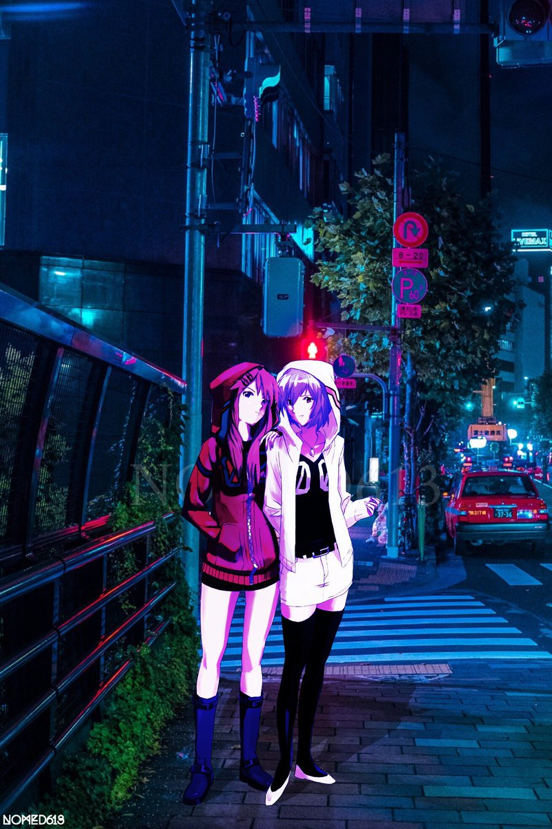 Nomed613 On Twitter Night Wave Tokyo Aesthetic Vaporwave