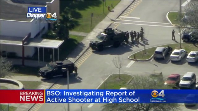 Three more police officers did not enter Florida school during shooting: report https://t.co/kjrXnL474V