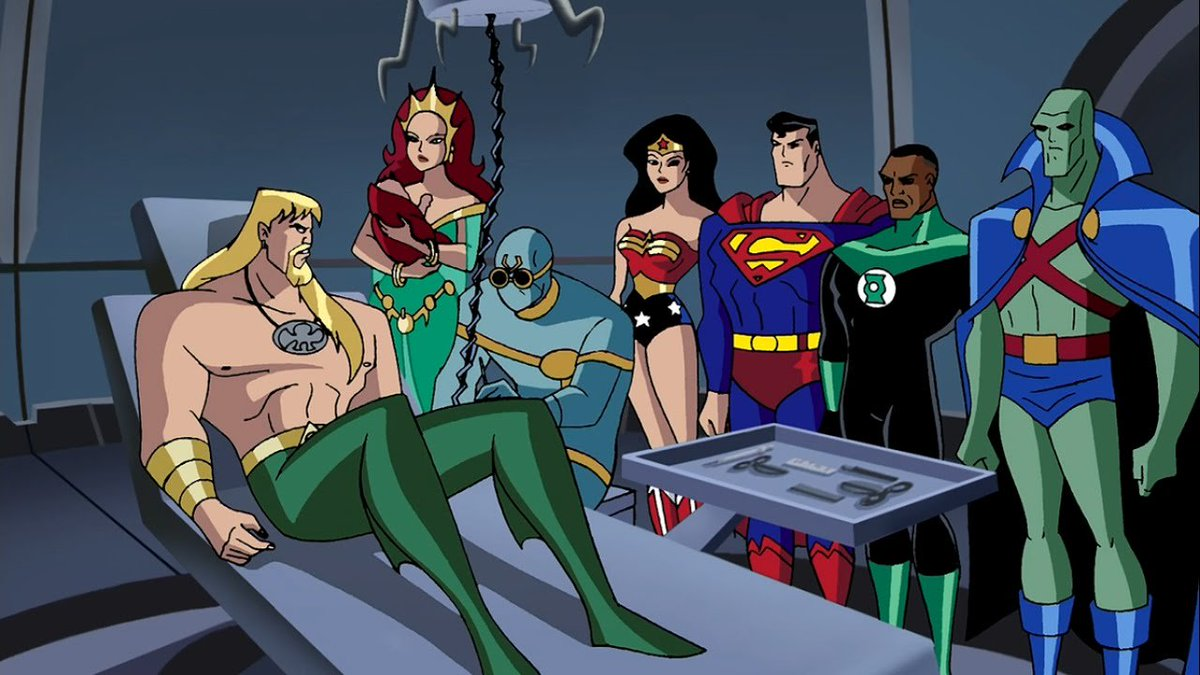 justice league cartoon - 1280×720