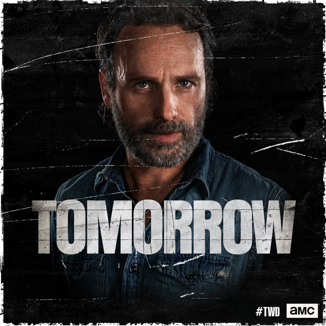 Tomorrow. It's all led to this. #TWD