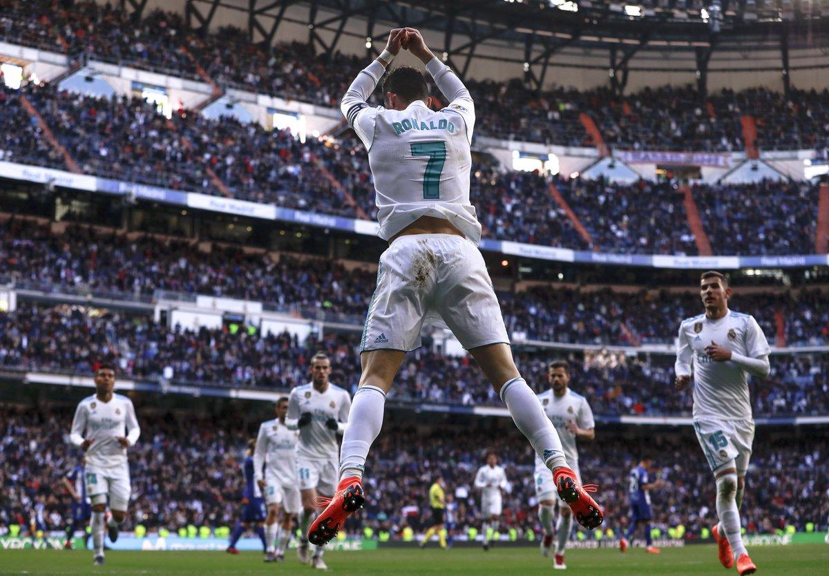 🎯 Doppietta di @Cristiano, il @realmadrid travolge 4-0 lAlaves!