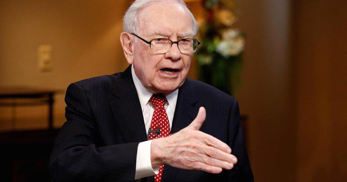Buffett reveals Berkshire's 15 largest stock holdings — including Apple, Wells Fargo https://t.co/BL8yqTexD5