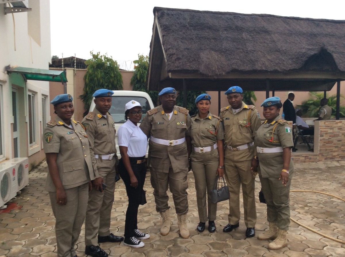 Peace Corps Of Nigeria on Twitter: