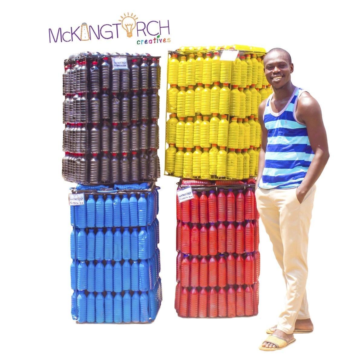 "Makafui Awuku on Twitter: ""Using the plastics to fight the ..."