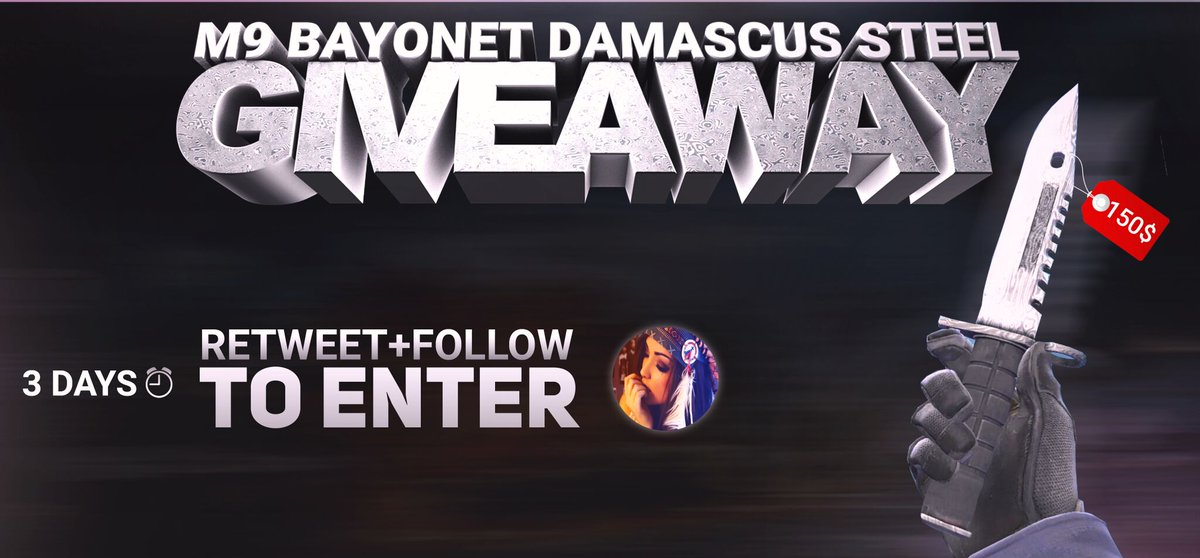 M9 Bayonet Damascus Steel FT Giveaway!!!...