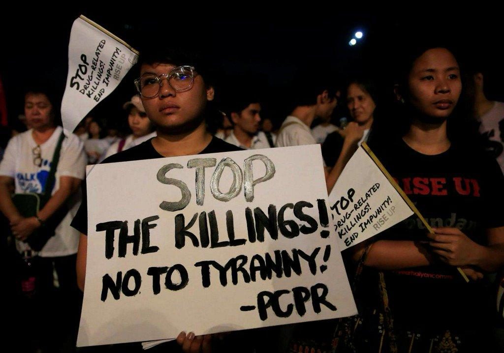 Philippine Catholics protest drug killings, death penalty https://t.co/JVu93ZzZ4B