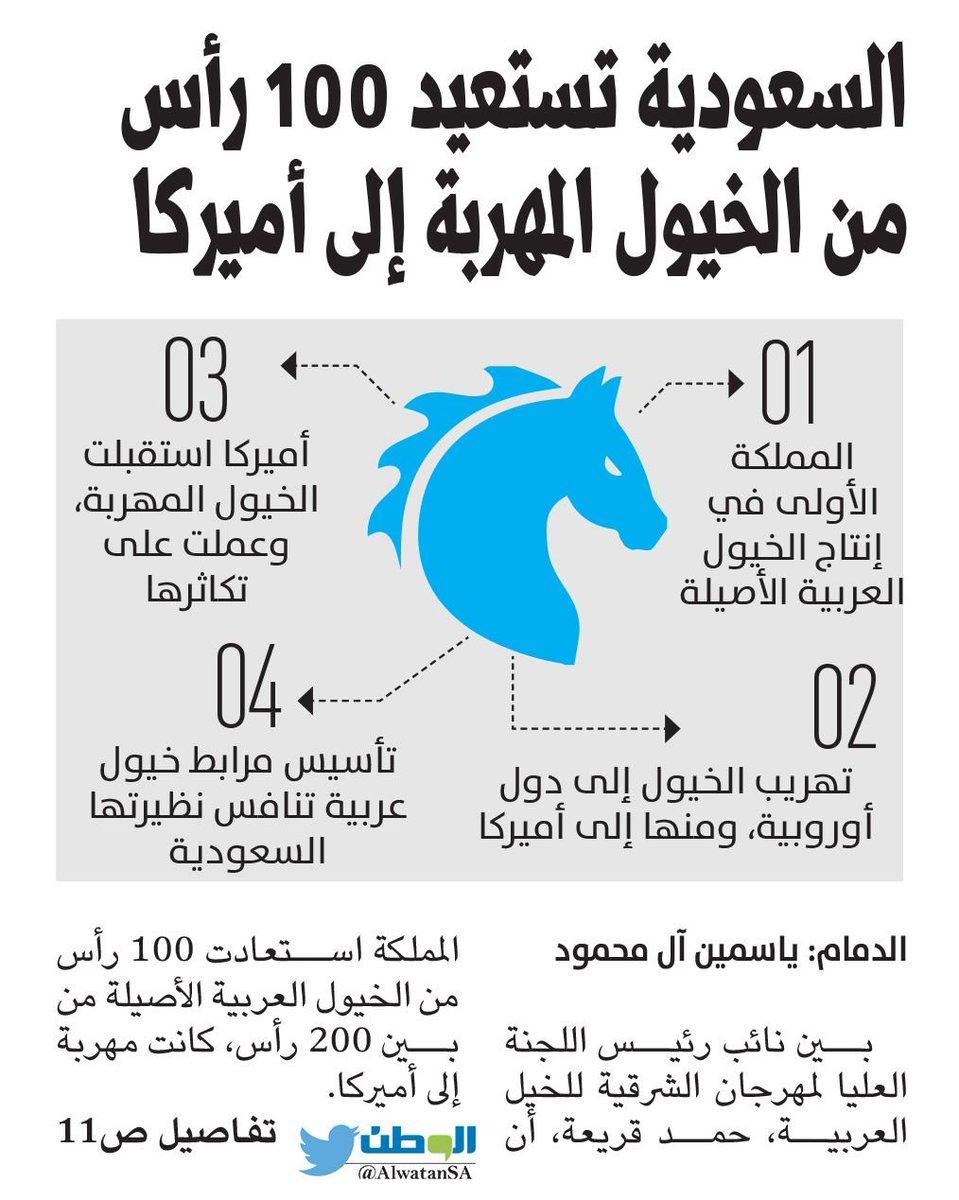 #السعودية تستعيد 100 رأس من #الخيول المه...
