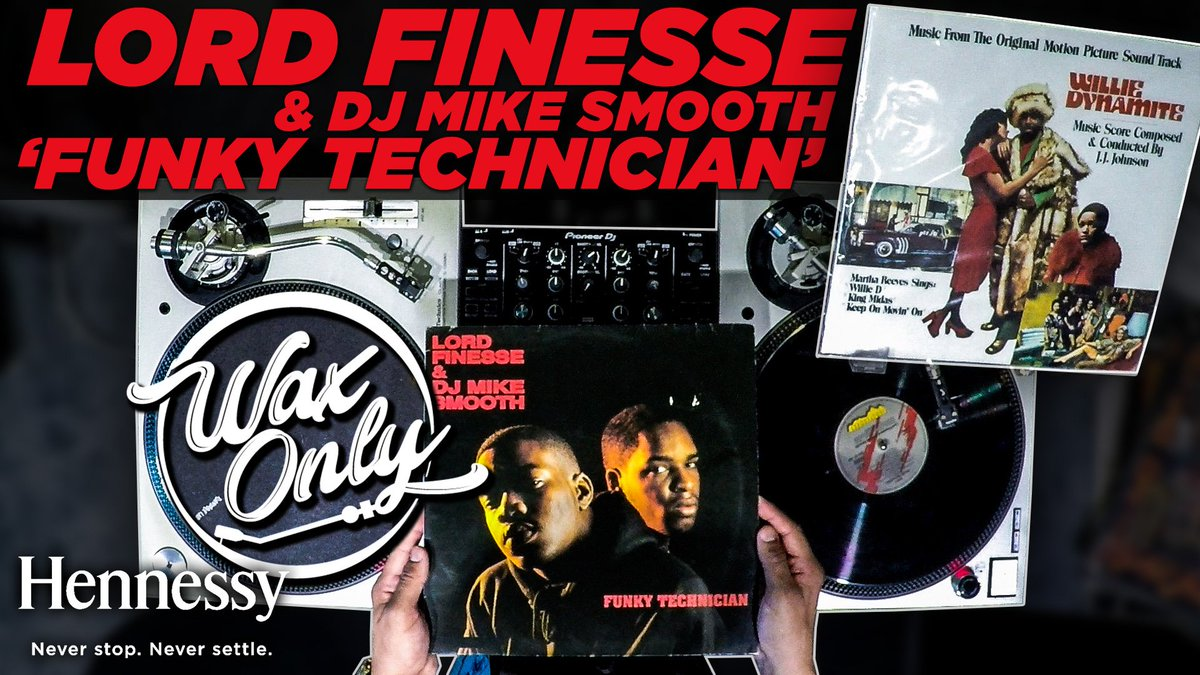 #WaxOnly: @VinRican Discovers Samples On Lord Finesse's 'Funky Technician' 🎥 @HennessyUS [WATCH]: https://t.co/MVhD2AIPyl