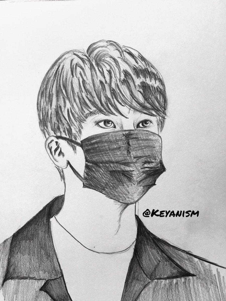 Keya On Twitter Jin Bts Wearing Masks Series Part 5