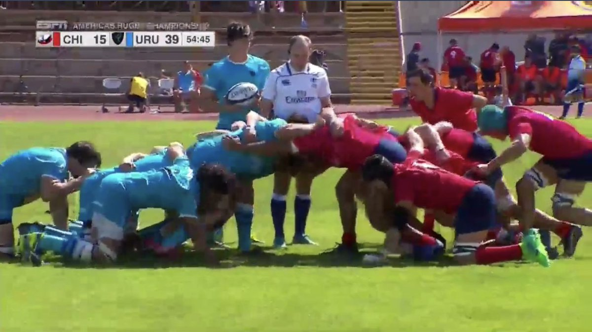 @chilerugby1 @RugbyUruguay @TSN_Sports With 55 minutes up, it's Chile 15-39 Uruguay in the Americas Rugby Championship  In the Americas? Follow on ESPN  All other territories follow LIVE onhttps://t.co/Nb2L8RmxUZ  anhttps://t.co/oxQ7PJDdT4d  https://t.co/GDyKX7Q8ao