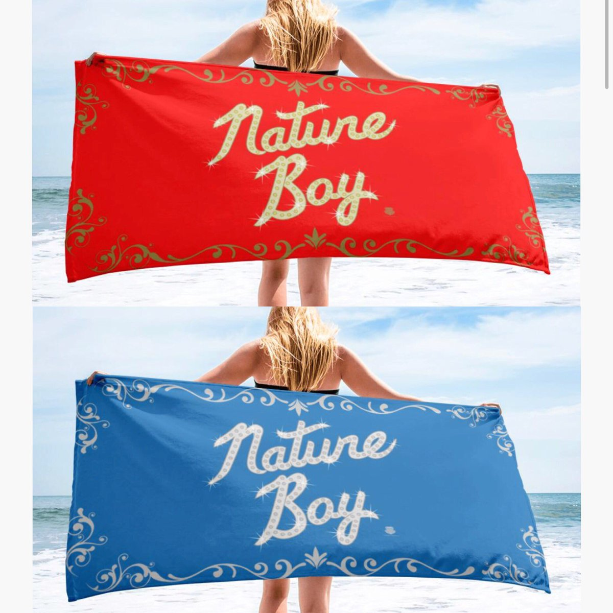 Spring Break Will Be Here Before You Know It! Make Sure You Have Your Nature Boy Beach Towel! WOOOOO! RicFlairShop.com