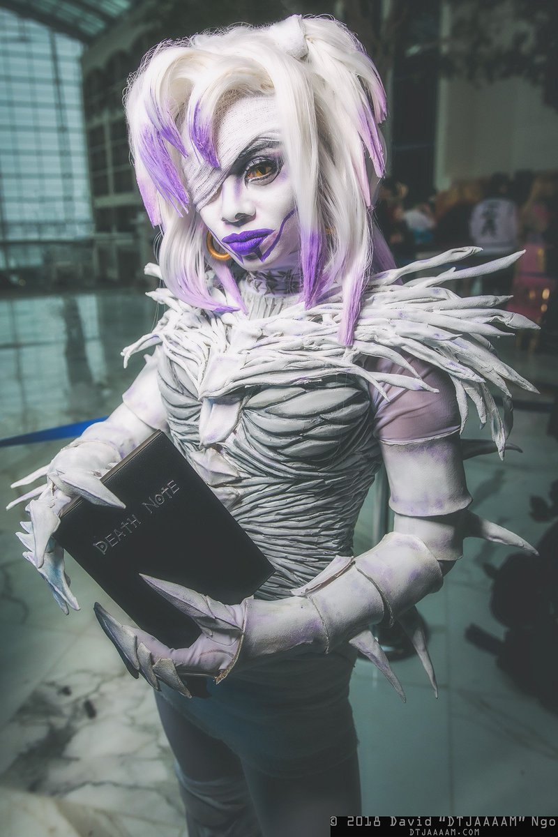 """DTJAAAAM On Twitter: """"Death Note's Rem. Cosplayer: Maweezy ..."""