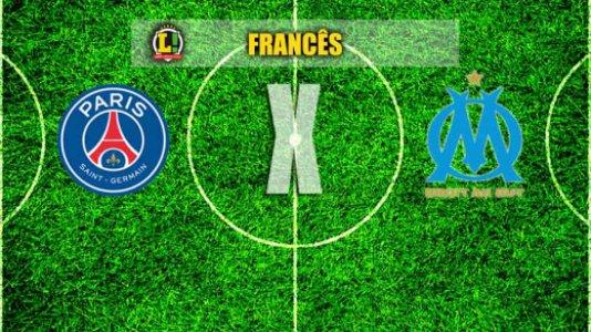 AO VIVO: Paris Saint-Germain e Olympique de Marselha fazem clássico no Francês. Siga os lances --> https://t.co/6hDJ8NE44q