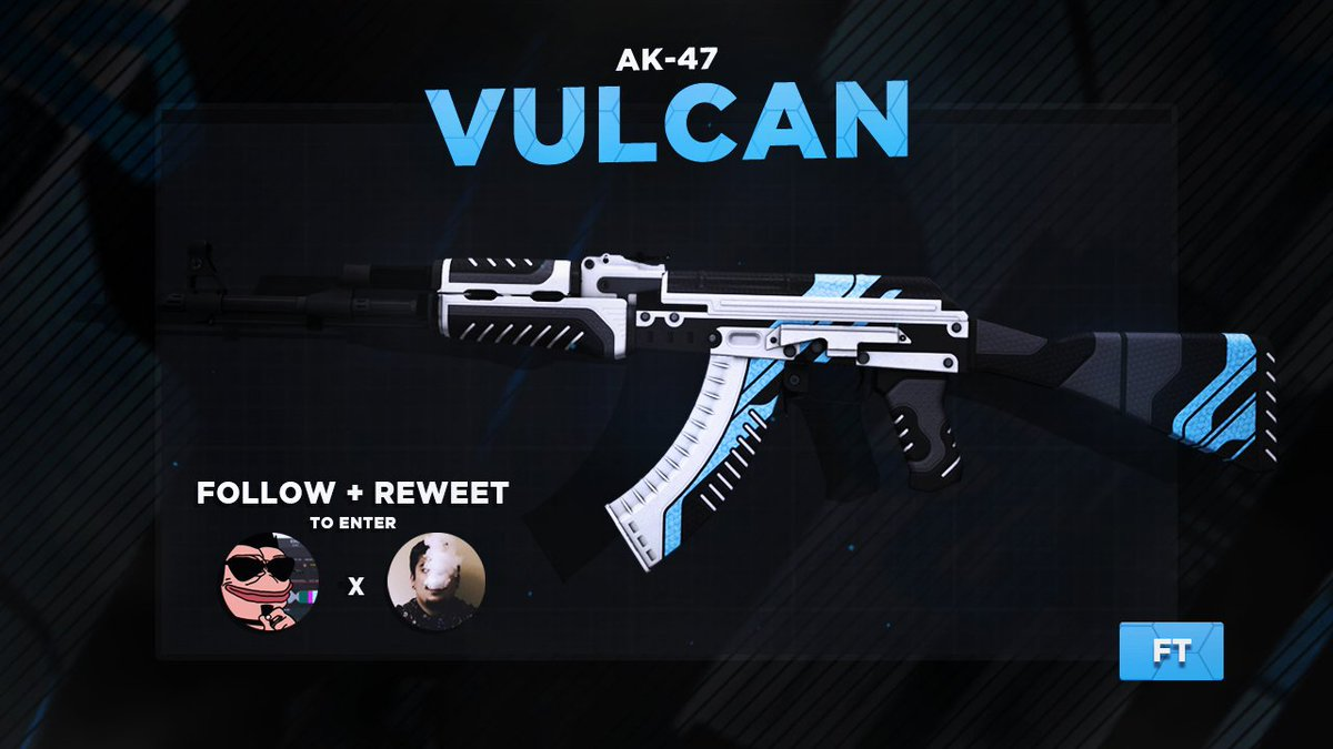 AK-47 | VULCAN - Giveaway! 🎁  ✔️ Retweet...