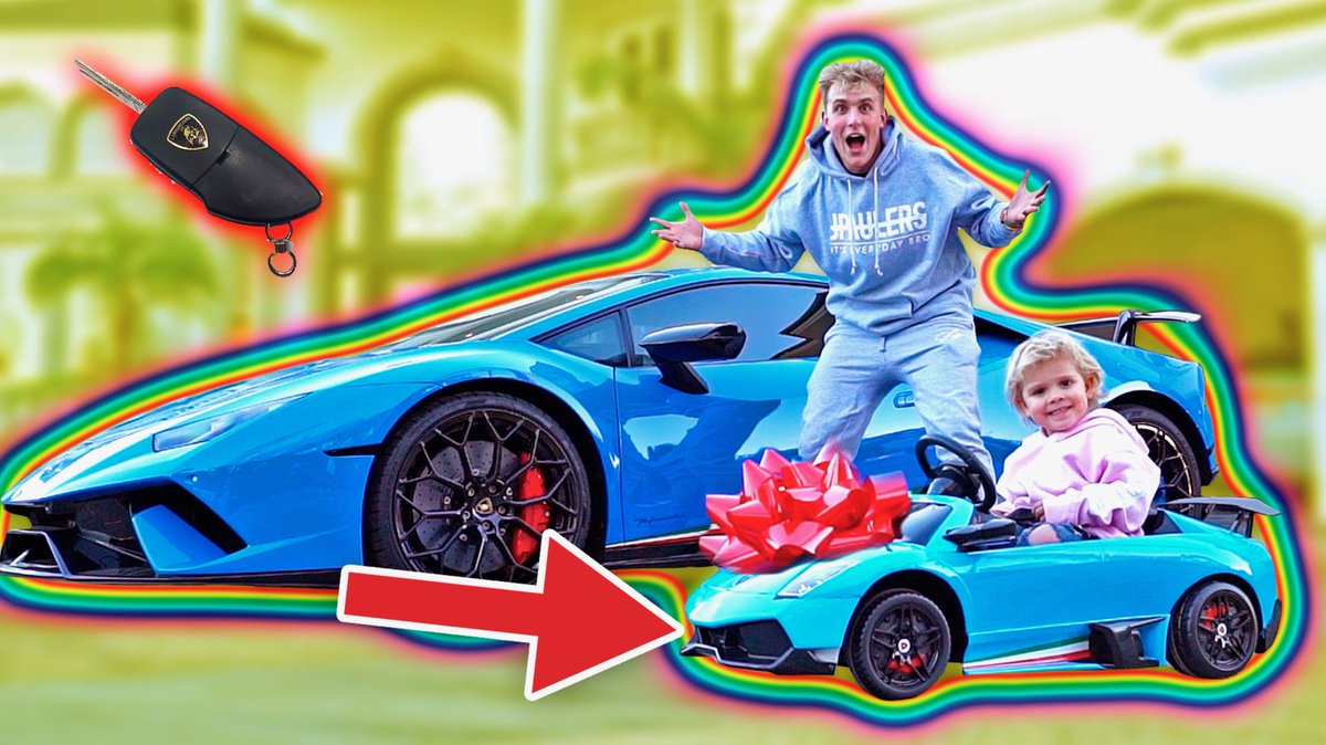 Jake Paul On Twitter I Surprised Mini Jake Paul With A Mini