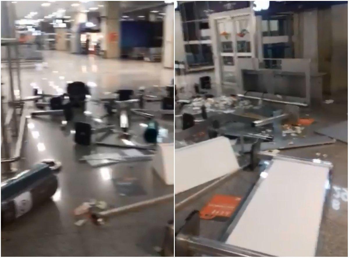 Funcionário tem surto psicológico e promove quebradeira no aeroporto do Galeão https://t.co/jKDNKm5OPZ [@OGlobo_Rio]
