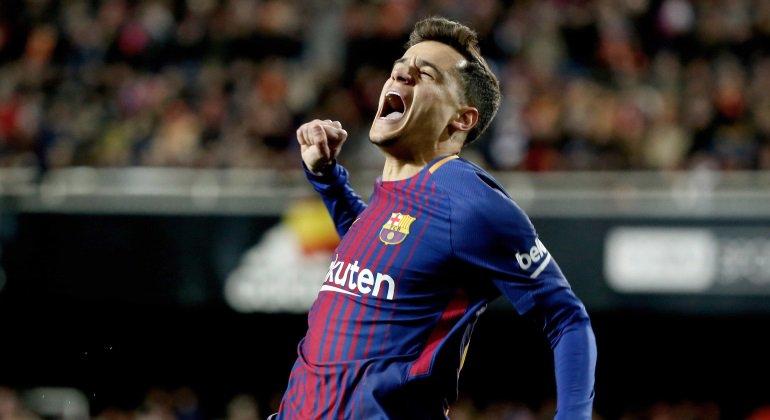 #ENDIRECTO ¡Gol del Barcelona! ¡Coutinho! Barcelona 5-1 Girona https://t.co/jVoyIcvKqL