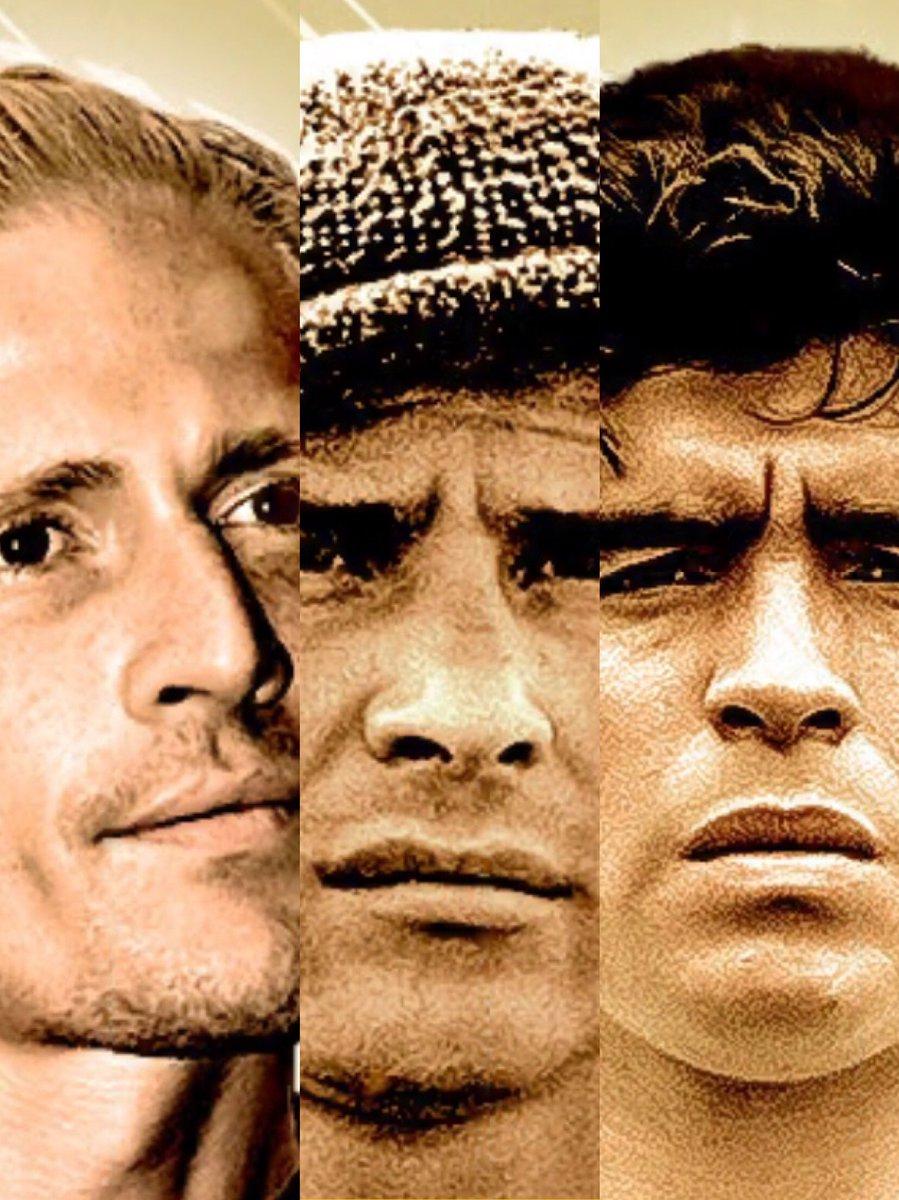 Petit (93) 😐 Yashin (98) ☹️ Maradona (110) 😵