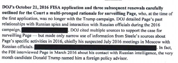 Newly released Dem Intel Memo notes the FBI interviewed Carter Page about his contacts with Russian spies in 'March 2016, the very month [Trump] named him' an adviser.  https://t.co/grefua2k0T