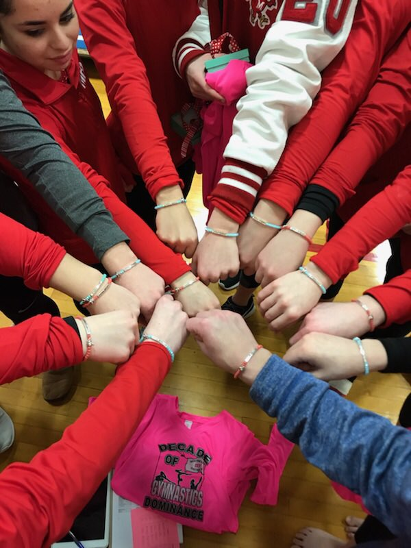 Your cardinal gymnasts are STATEBOUND!!!...