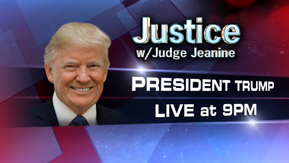 TONIGHT: President @realDonaldTrump joins @JudgeJeanine following the end of #CPAC2018. Tune in at 9pm ET on Fox News Channel!