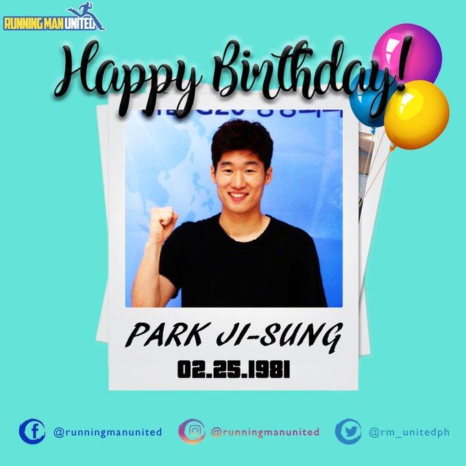 Happy Birthday Park Ji-sung