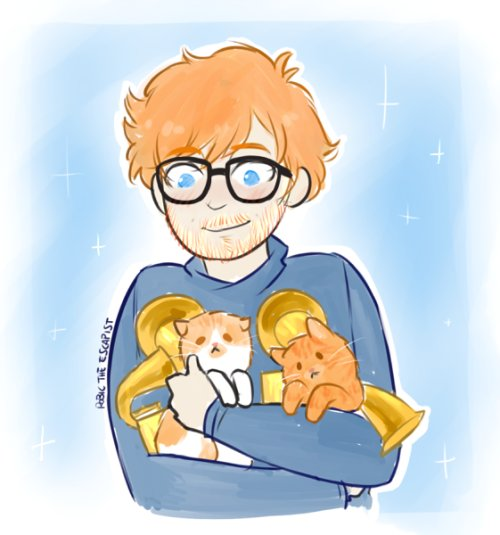Happy birthday, @edsheeran 🎈 https://t.co/a3sqnIkXbn (by #robictheescapist)
